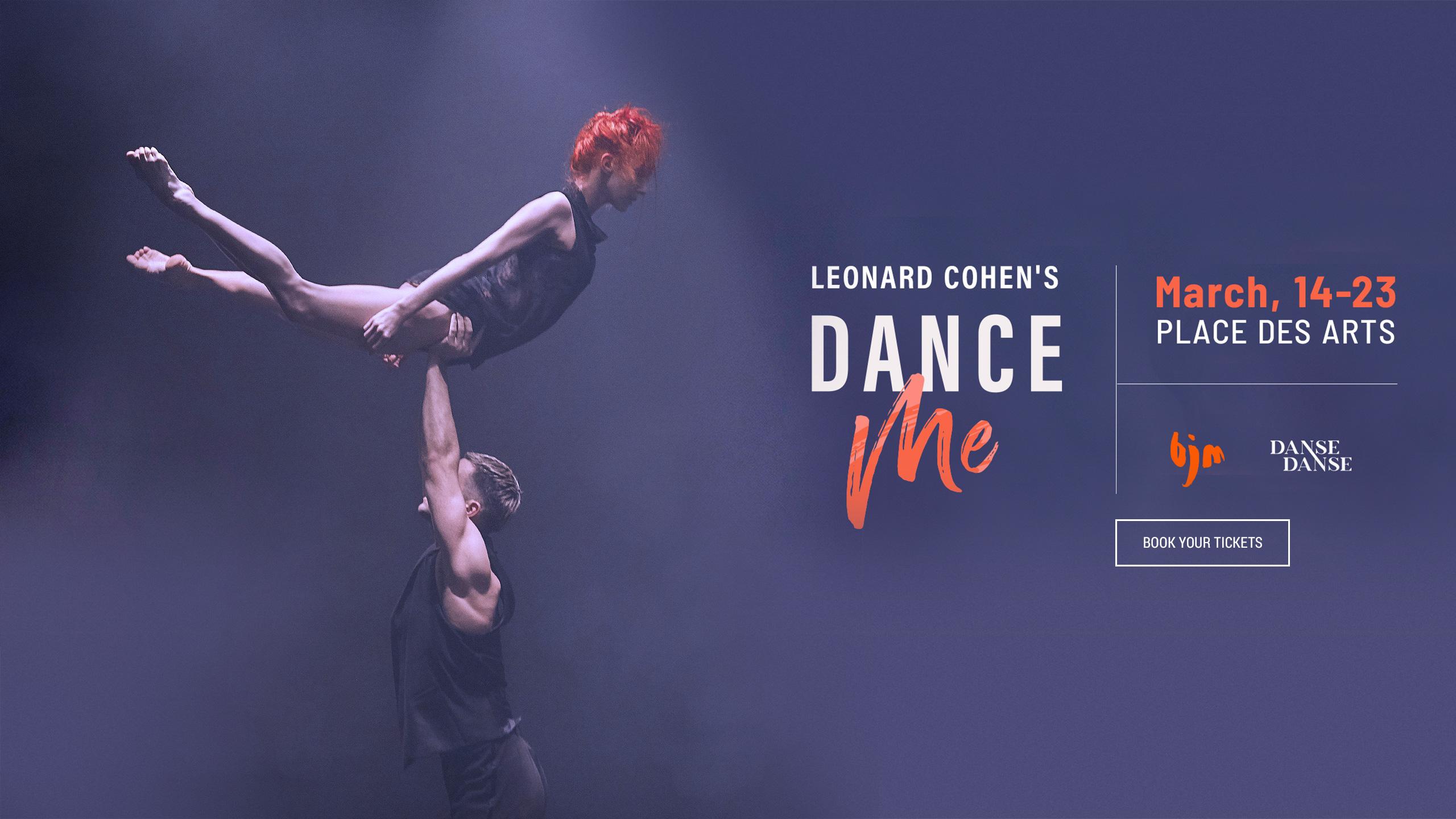 Les Ballets Jazz de Montréal de retour en force avec Leonard Cohen pour six ultimes représentations